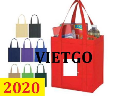 Cơ hội giao thương – Đơn hàng thường xuyên - Cơ hội cung cấp túi vải cho một doanh nghiệp tại Hoa Kỳ