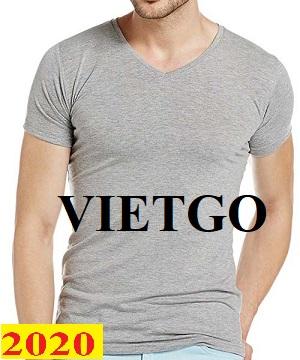 Cơ hội giao thương – Đơn hàng thường xuyên - Cơ hội xuất khẩu áo T shirt đến thị trường Mỹ