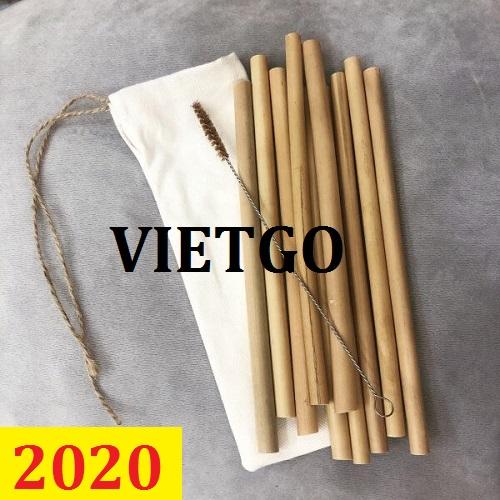 Cơ hội giao thương – Đơn hàng Cả Năm - Cơ hội xuất khẩu Ống Hút Gạo và Ống Hút Tre sang thị trường Hà Lan