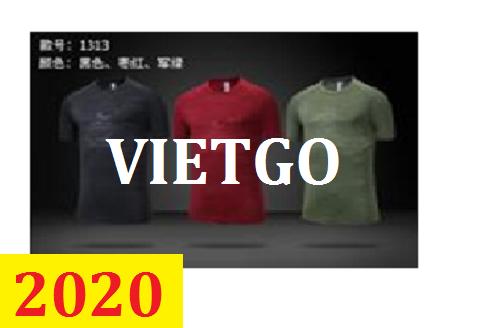(Cập nhật số điện thoại vị khách hàng)Cơ hội giao thương – Đơn hàng thường xuyên - Cơ hội cung cấp áo Tshirt thể thao cho doanh nghiệp Đài Loan