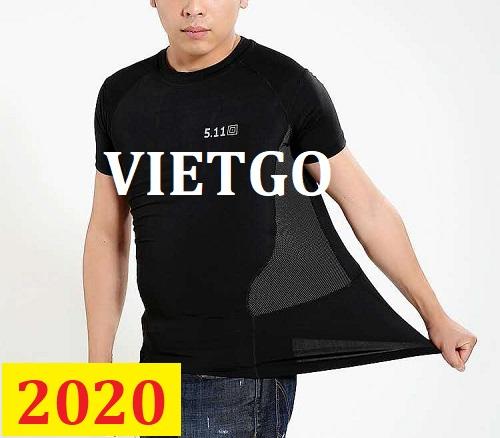 Cơ hội giao thương – Đơn hàng thường xuyên - Cơ hội xuất khẩu áo T shirt shirt đên thị trường Thổ Nhĩ Kỳ