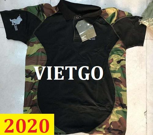Cơ hội giao thương – Đơn hàng thường xuyên - Cơ hội xuất khẩu áo Polo shirt shirt đên thị trường Thổ Nhĩ Kỳ