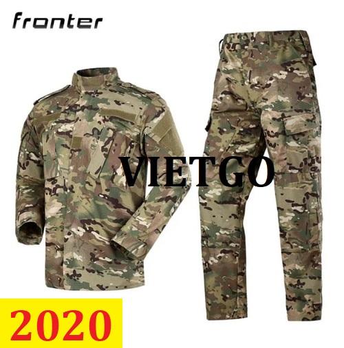 Cơ hội giao thương – Đơn hàng thường xuyên - Cơ hội xuất khẩu Bộ đồ quân phục đên thị trường Thổ Nhĩ Kỳ