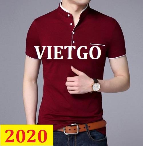 Cơ hội giao thương – Cơ hội xuất khẩu Polo shirt sang thị trường Brazil