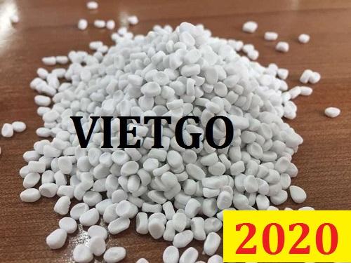Cơ hội giao thương Đặc biệt – Đơn hàng cả năm – Cơ hội xuất khẩu hạt độn nhựa CaCO3 sang thị trường Bahrain