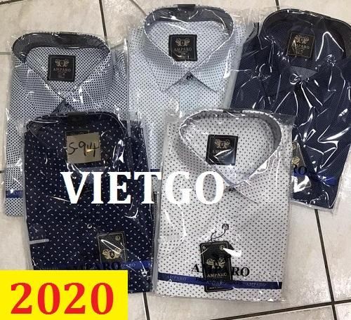 Cơ hội giao thương – Đơn hàng thường xuyên - Cơ hội cung cấp áo sơ mi nam cho một doanh nghiệp tại Dubai