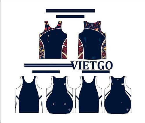 Cơ hội giao thương - Doanh nghiệp tại Úc đang cần tìm gấp nhà cung cấp cho các sản phẩm áo thể thao