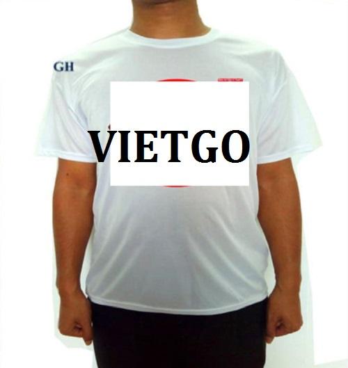 Cơ hội giao thương - Cơ hội xuất khẩu áo T-shirt sang thị trường Mỹ