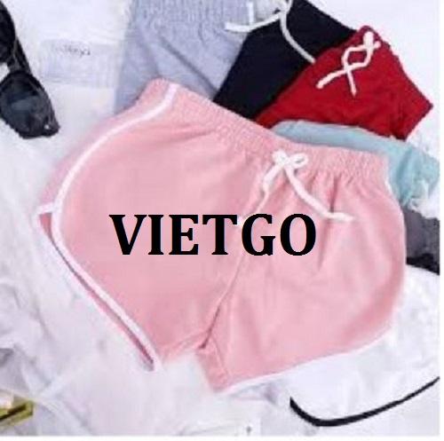Cơ hội giao thương - Cơ hội xuất khẩu quần đùi nữ sang thị trường Ấn Độ