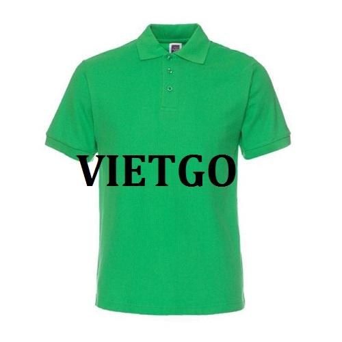 Cơ hội giao thương - Cơ hội cung cấp mặt hàng áo Polo Shirt cho một doanh nghiệp tại Anh