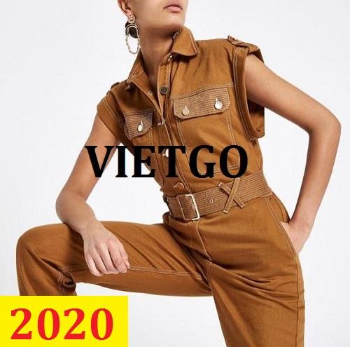 Cơ hội giao thương – Đơn hàng thường xuyên - Cơ hội cung cấp đồ may mặc nữ cho một doanh nghiệp tại Dubai