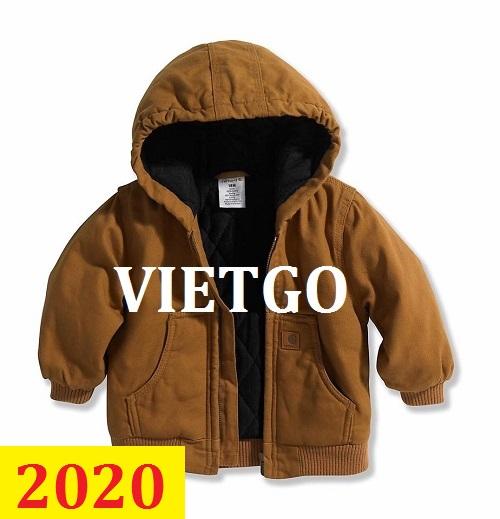 Cơ hội giao thương – Đơn hàng thường xuyên - Cơ hội xuất khẩu áo khoác sang thị trường Ấn Độ