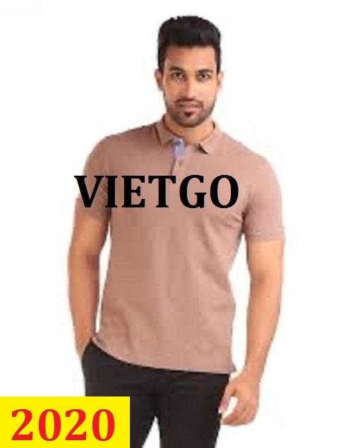 Cơ hội giao thương -  Đơn hàng thường xuyên - Cơ hội xuất khẩu Áo Polo shirt  đến thị trường Bangladesh