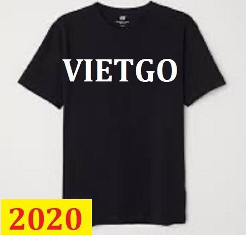 Cơ hội giao thương -  Đơn hàng thường xuyên - Cơ hội xuất khẩu Áo T shirt  đến thị trường Bangladesh