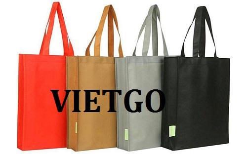 Cơ hội giao thương – Cơ hội cung cấp túi vải không dệt cho thị trường Mỹ