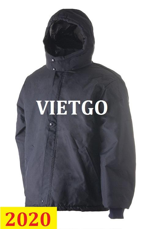 Cơ hội giao thương – Đơn hàng thường xuyên – Cơ hội cung cấp áo khoác bảo hộ lao động đến thị trường Argentina