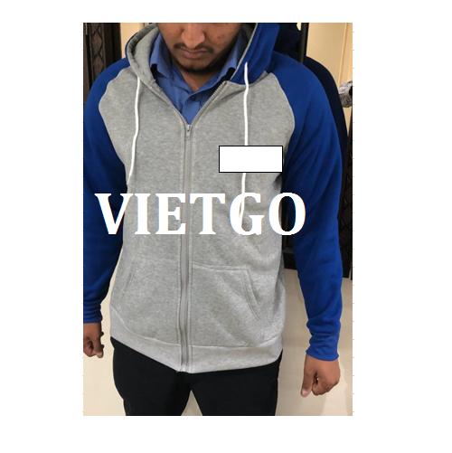 Cơ hội giao thương - Doanh nghiệp tại United Arab Emirates đang cần tìm nhà cung cấp cho đơn hàng áo Jacket