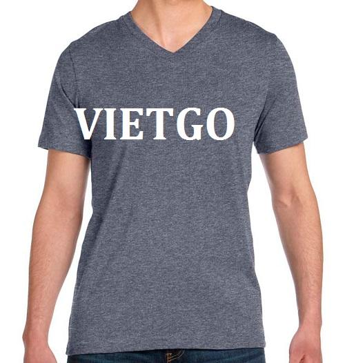Cơ hội giao thương - Cơ hội xuất khẩu áo T shirt đến từ khách hàng người Trung Quốc