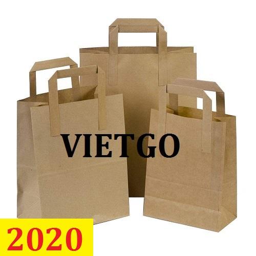 Cơ hội giao thương  - Đơn hàng thường xuyên - Cơ hội xuất khẩu Túi giấy sang thị trường Đức