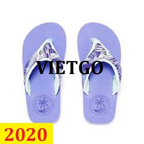 Cơ hội giao thương -  Đơn hàng thường xuyên - Cơ hội xuất khẩu giày  trẻ em đến thị trường Ấn Độ