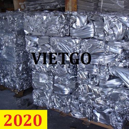 Cơ hội giao thương – Đơn hàng cả năm – Cơ hội xuất khẩu Nhôm phế liệu cho vị khách hàng quen người Pakistan của VIETGO