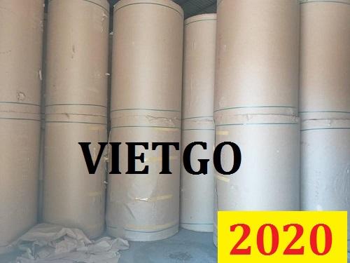 Cơ hội giao thương ĐẶC BIỆT - Đơn hàng thường xuyên - Cơ hội xuất khẩu bột giấy OCC sang Trung Quốc