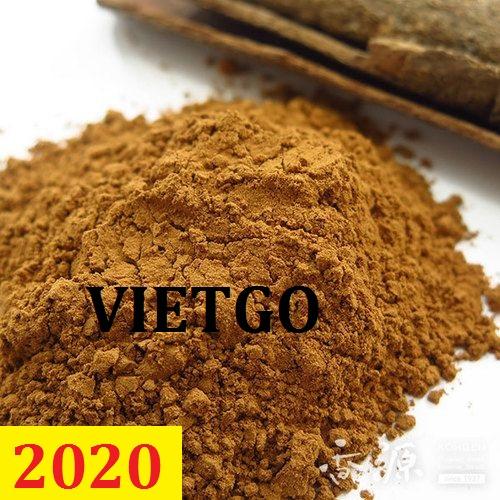 Cơ hội giao thương – Đơn hàng cả năm – Cơ hội xuất khẩu Bột keo làm hương sang thị trường Ấn Độ
