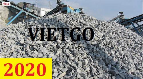 Cơ hội giao thương – Đơn hàng cả năm – Cơ hội xuất khẩu đá xây dựng sang thị trường Bangladesh