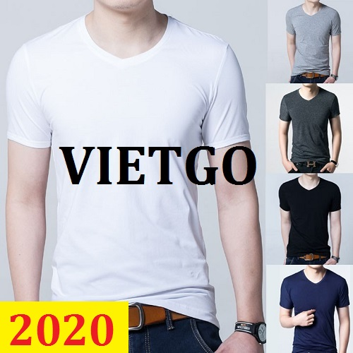 Cơ hội giao thương -  Đơn hàng thường xuyên - Cơ hội xuất khẩu Áo T shirt  đến thị trường Ấn Độ