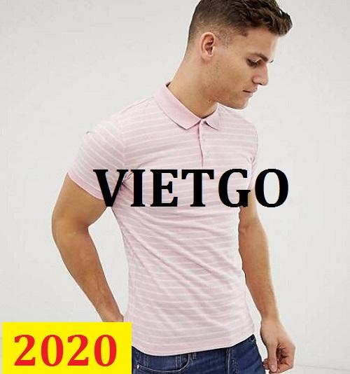 Cơ hội giao thương -  Đơn hàng thường xuyên - Cơ hội xuất khẩu Áo Polo shirt  đến thị trường Ấn Độ
