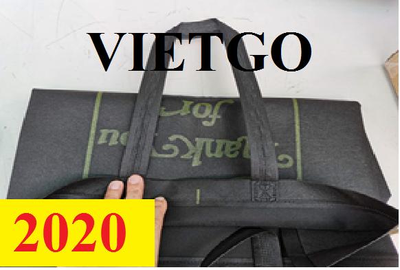 Cơ hội giao thương – Đơn hàng thường xuyên - Cơ hội xuất khẩu túi vải không dệt sang thị trường Trung Quốc