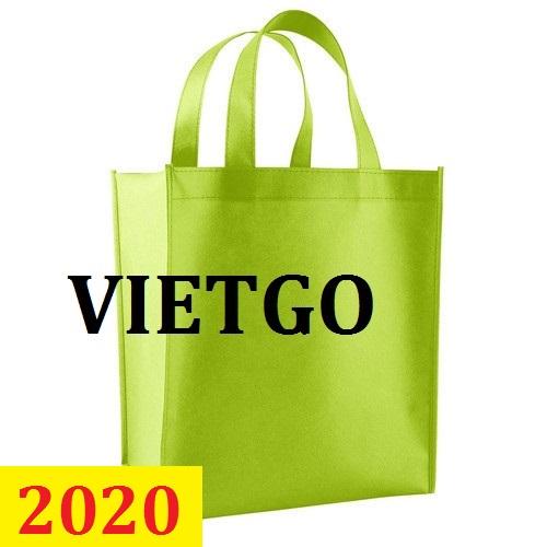 Cơ hội giao thương – Đơn hàng thường xuyên - Cơ hội cung cấp găng túi vải PP không dệt đến thị trường Maldives