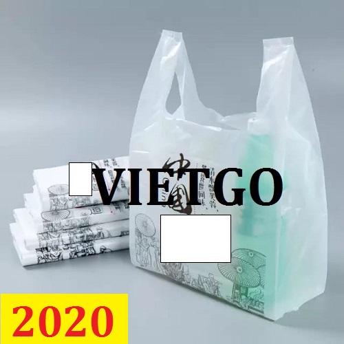 Cơ hội giao thương – Đơn hàng thường xuyên - Cơ hội cung cấp túi nilon đến thị trường Arab Saudi