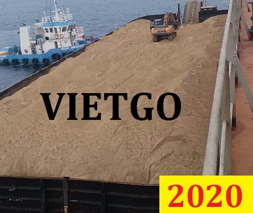 Cơ hội giao thương Đặc Biệt Cả Năm – Vị khách hàng người Trung Quốc cần tìm nhà cung cấp cát sông