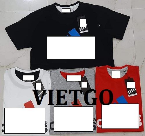 Cơ hội giao thương - Cơ hội xuất khẩu áo T shirt đến thị trường Togo