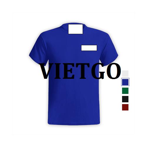 Cơ hội giao thương – Cơ hội xuất khẩu áo T-shirt sang thị trường Ấn Độ