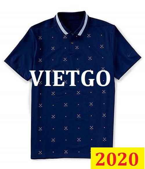 Cơ hội giao thương Đặc Biệt -  Đơn hàng thường xuyên - Cơ hội xuất khẩu Áo Polo shirt  đến thị trường Nigeria
