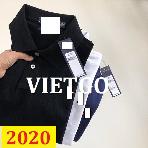 Cơ hội giao thương – Đơn hàng thường xuyên - Cơ hội cung cấp mặt hàng áo Polo Shirt thời trang cho một doanh nghiệp tại Brazil