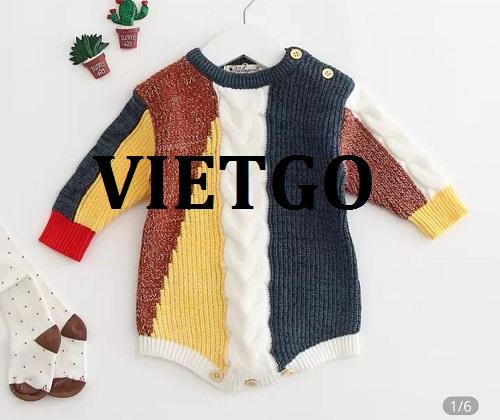 Cơ hội giao thương - Cơ hội cung cấp quần áo trẻ em tới thị trường Peru