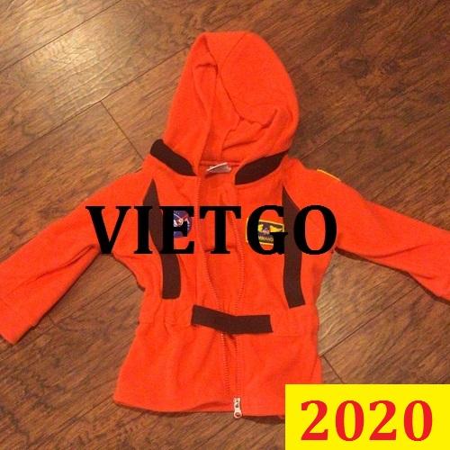 Cơ hội giao thương Đặc Biệt -  Đơn hàng thường xuyên - Cơ hội xuất khẩu quần áo trẻ em đến thị trường Mỹ