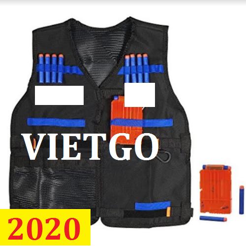 Cơ hội giao thương - Đơn hàng thường xuyên - Cơ hội xuất khẩu sản phẩm áo Vest bảo hộ đến thị trường Hong Kong