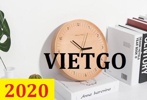 Cơ hội giao thương – Đơn hàng Thường xuyên - Cơ hội xuất khẩu Đồng hồ tre đến từ vị khách hàng người Pháp