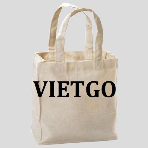 Cơ hội giao thương - Cơ hội xuất khẩu túi vải sang thị trường Ấn Độ