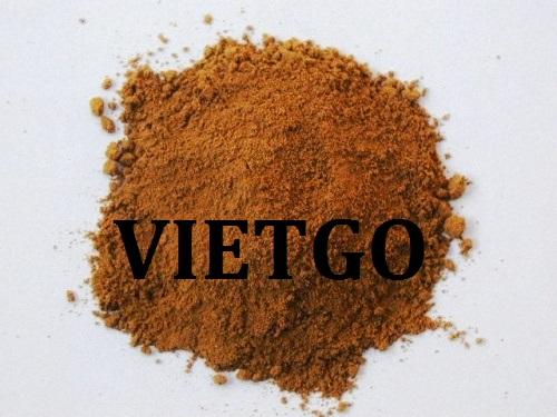 Cơ hội giao thương – Đơn hàng thường xuyên – Doanh nghiệp Ấn Độ cần nhập khẩu Bột làm hương từ Việt Nam