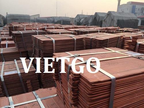 Cơ hội giao thương – Cơ hội xuất khẩu Tấm Đồng sang thị trường Trung Quốc