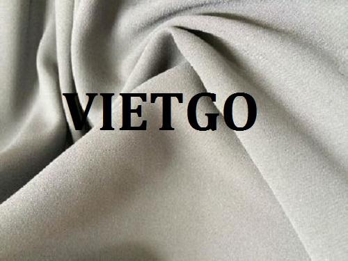 Cơ hội giao thương – Đơn hàng thường xuyên - Cơ hội cung cấp vải may mặc sang thị trường Dubai
