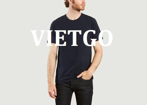 Cơ hội giao thương – Đơn hàng hàng tháng - Cơ hội cung cấp sản phẩm áo T – Shirt cho một doanh nghiệp tại Anh