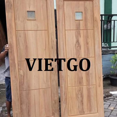 Cơ hội giao thương đặc biệt – Đơn hàng hàng tháng - Cần tìm nhà cung cấp Cửa gỗ sang Ấn Độ