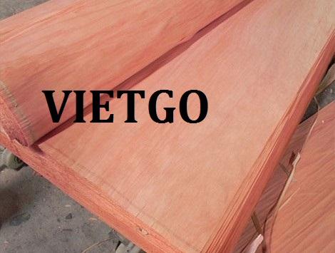 Cơ hội giao thương  – Đơn hàng thường xuyên - Cơ hội xuất khẩu Ván bóc gỗ dầu sang thị trường Ấn Độ