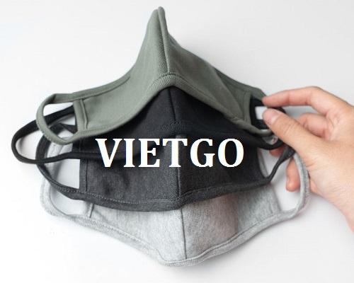 Cơ hội giao thương – Đơn hàng thường xuyên – Vị nữ khách hàng trẻ tuổi người Mỹ có nhu cầu tìm nhà cung cấp khẩu trang vải tại Việt Nam